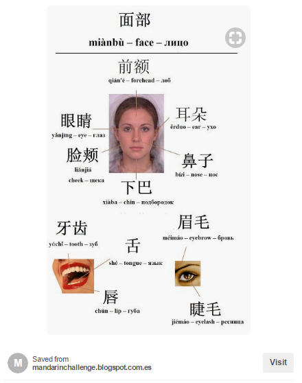 Label Face in Chinese 2