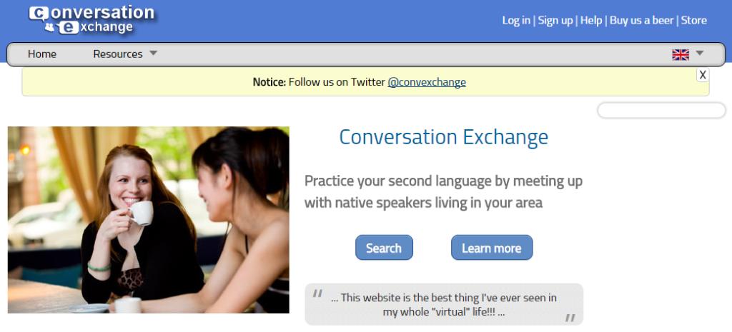 Language exchange online dating