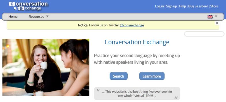 conversation exchange