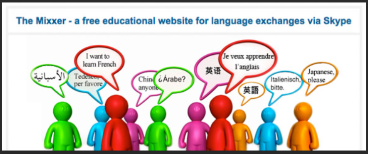 language exchange websites